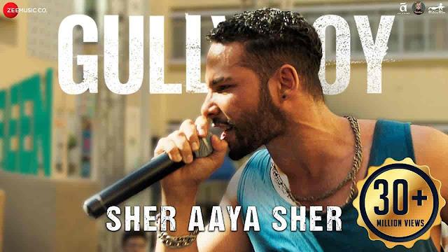 Sher Aaya Sher Lyrics - Gully Boy | Divine