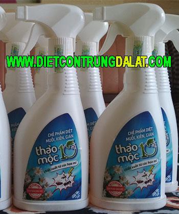 thuốc diệt muỗi thảo mộc
