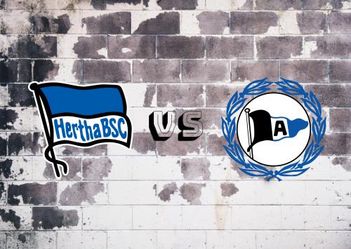 Hertha BSC vs Arminia Bielefeld  Resumen