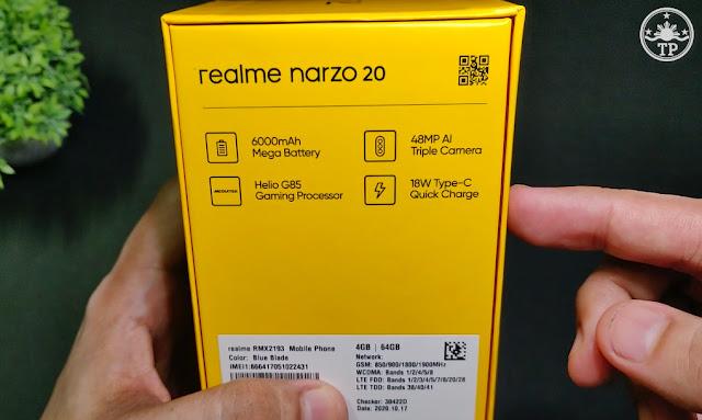 realme narzo 20, realme narzo 20 Philippines