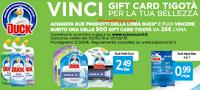 Logo Con Duck vinci subito 500 Gift Card Tigotà per la tua bellezza