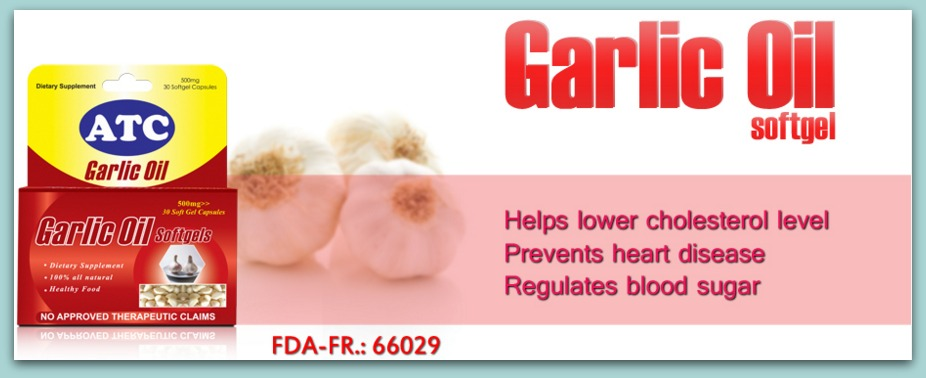 ATC GARLIC OIL: Love Your Heart! | Only Elisa Knows