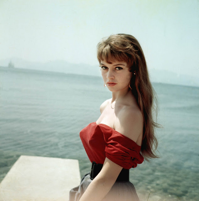 Brigitte Bardot Aged 19 at Cannes Film Festival