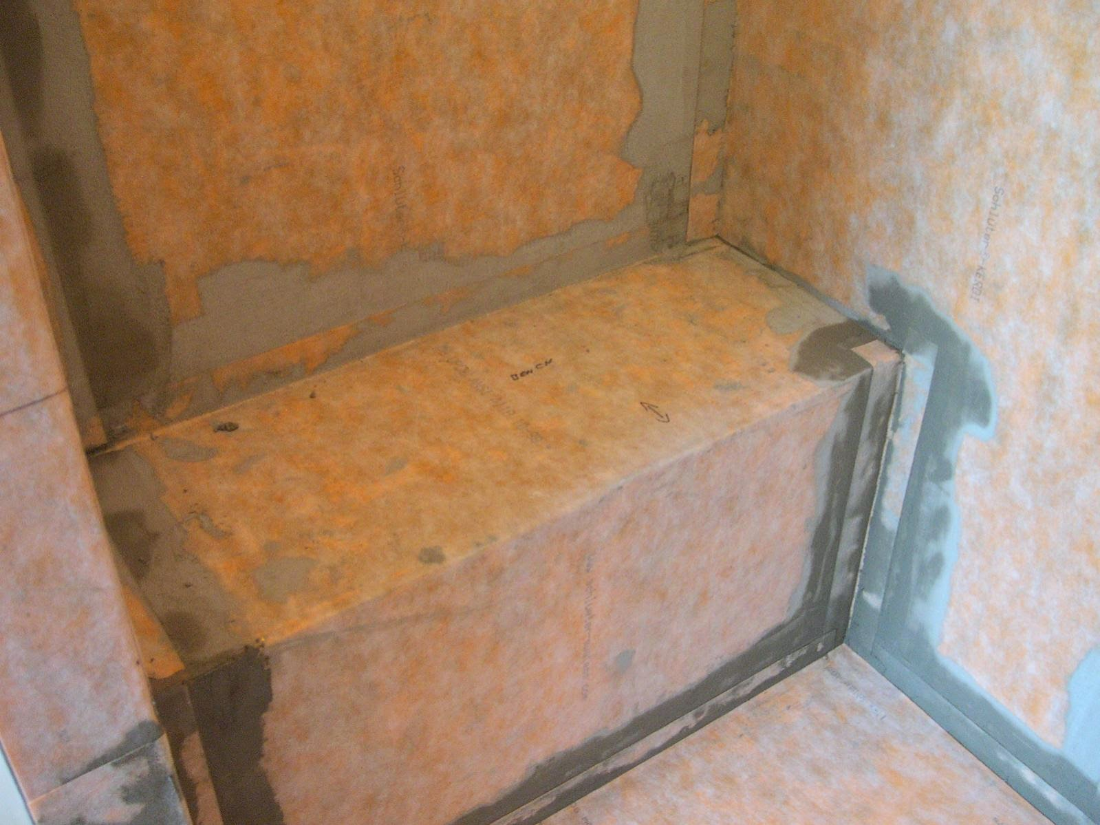 shower bench construction - 28 images - built in shower ...