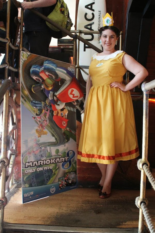 Fancy Dresscapades: A Visit to the StreetPass Brighton for some Mario Kart Action
