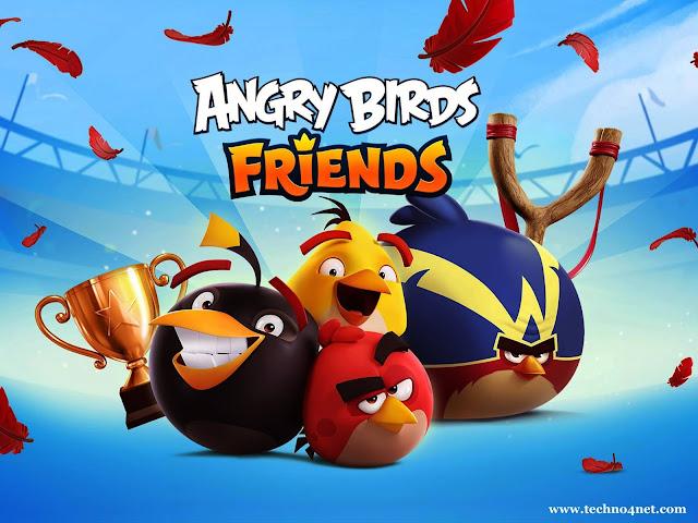 تحميل لعبة angry birds friends للايفون