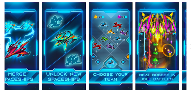 GALAXY MERGE — Idle Space Game[Normally $1.90]