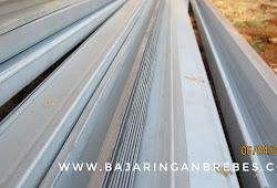 harga baja ringan cilegon steel per batang indonesia brebes