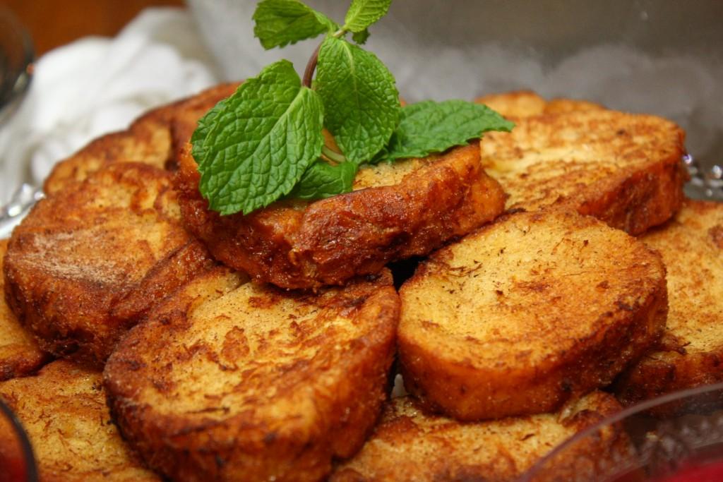 rabanada de forno para fazer o ano inteiro sem engordar