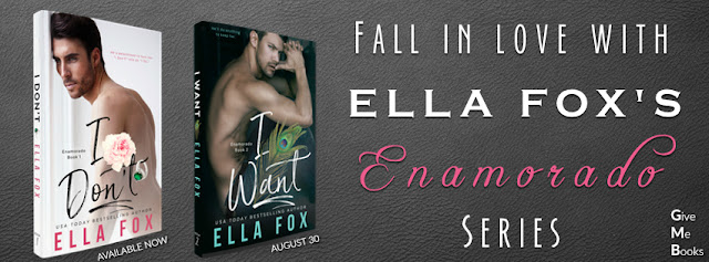 COVER REVEAL - I Want by Ella Fox