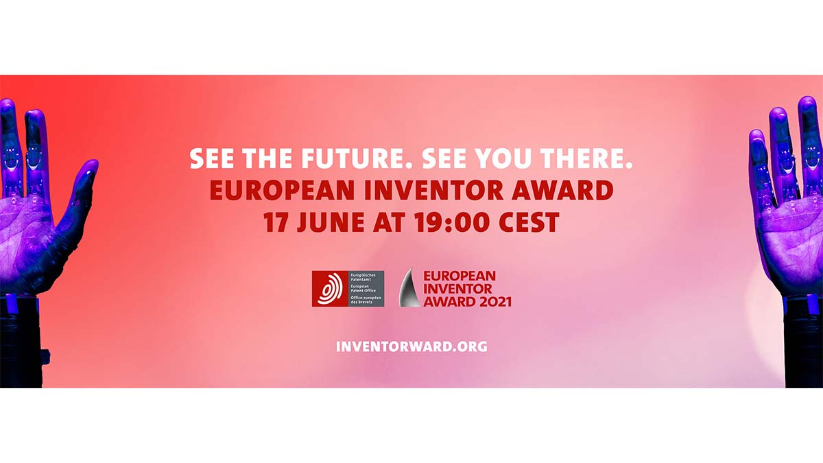 European Inventor Award 2021: Meet some of today's most inspiring innovators at digital event on 17 June