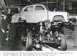 1953 Standard Vanguard assembly