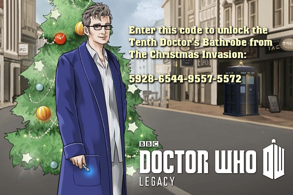 Doctor Who Legacy: Unlock The Tenth Doctor's Dressing Gown