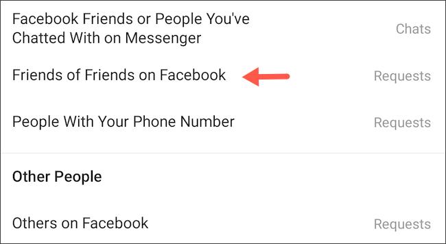 احظر أصدقاء أصدقاء Facebook لإرسال رسائل إليك على Instagram