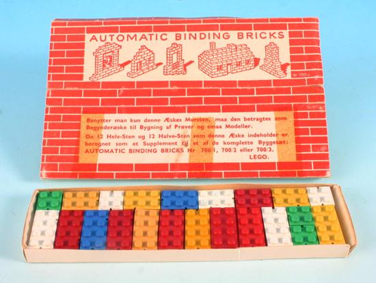 First LEGO Automatic Binding Bricks