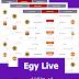 EgyLive إضافة ووردبريس لعرض جدول المباريات فى موقعك دون الحاجة الى تغيير محتوى موقعك او تصميمه