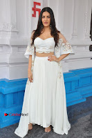 Telugu Actress Amyra Dastur Stills in White Skirt and Blouse at Anandi Indira Production LLP Production no 1 Opening  0009.JPG