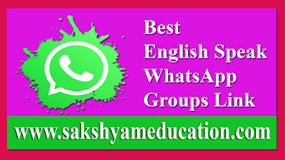 Best English Speak WhatsApp Groups Link