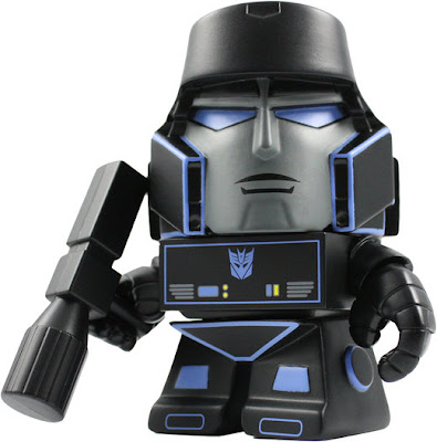 San Diego Comic-Con 2013 Exclusive Midnight Edition Cybertron Megatron Transformers Mini Figure by The Loyal Subjects