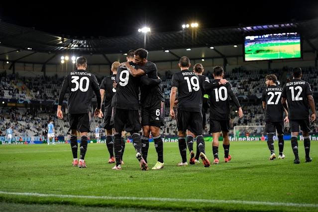 ملخص واهداف مباراة يوفنتوس ومالمو (3-0) دوري ابطال اوروبا