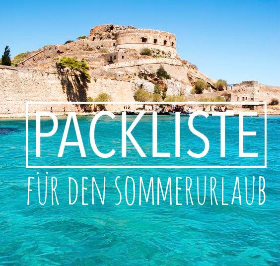 Packliste Sommerurlaub free download packen liste abhaken