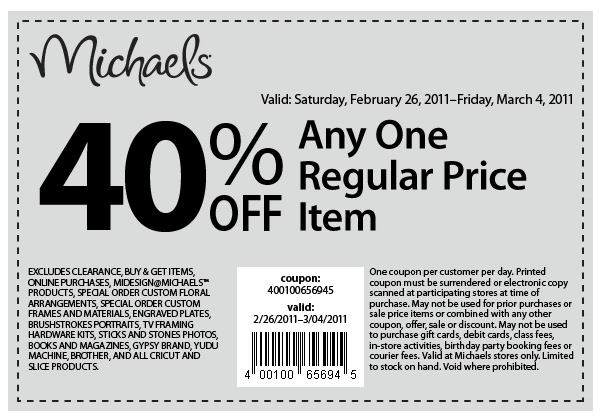 michaels craft store coupon craft coupons august 2018 i9 sports 4925