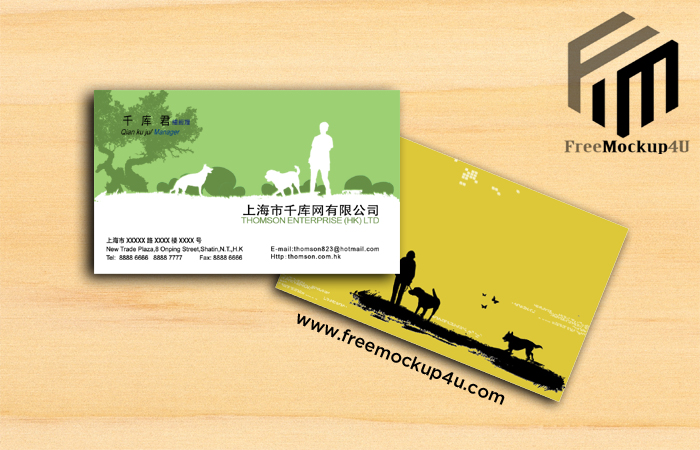 Minimalist Business Card Templates PSD