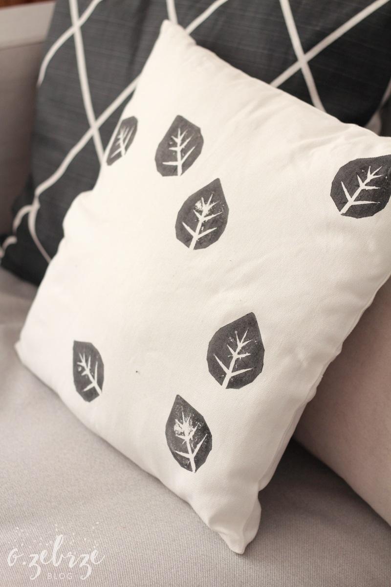 poduszka w liście