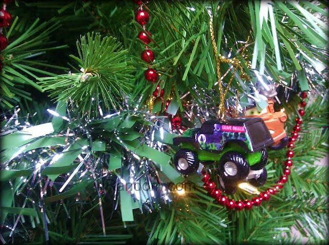 Monster Truck Ornaments