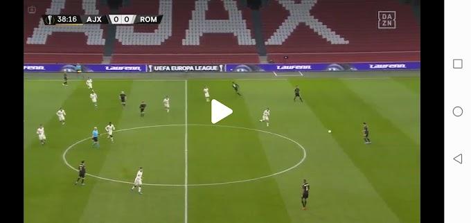 Ajax  1:2  Roma  / Europa League