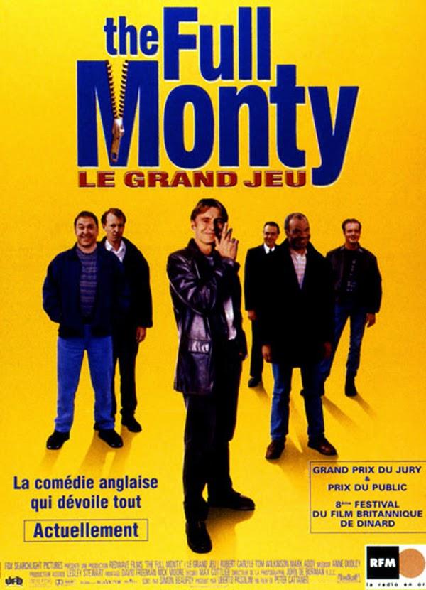 Affiche française du film The Full Monty, de Peter Cattaneo (1997)