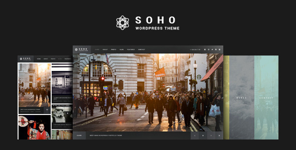SOHO - Fullscreen Photo & Video WordPress
