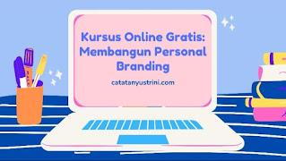 kursus online gratis personal branding