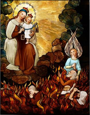 8 au 16 juillet Neuvaine à Notre Dame du Mont Carmel Purgatoire-marie+du+Carmel
