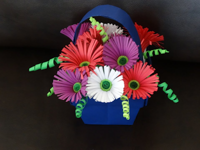 Quilling Flower Bouquet Designs 2015