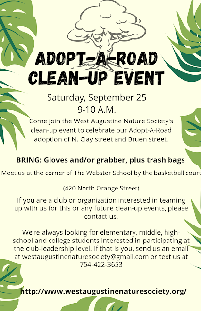 Adopt-A-Road Clean-Up Event Poster