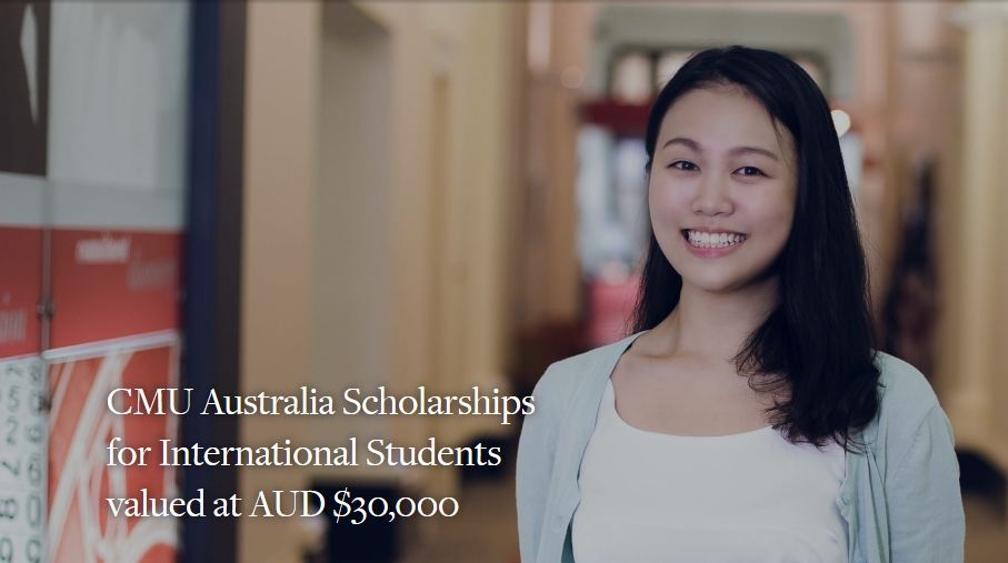 CMU Australia Scholarships for International Students 2020