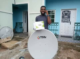 tstv decoder and dish