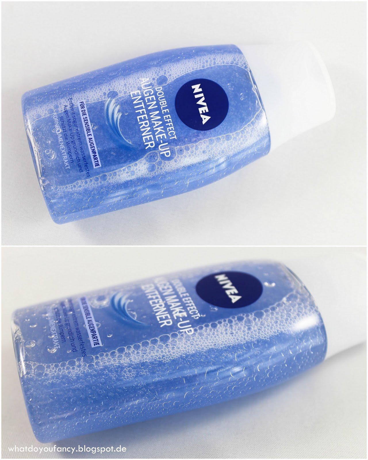 Der Nivea Double Effect Augen Make-up Entferner und Nivea Sanfter Wasserfester Augen Make-up Entferner im Vergleich