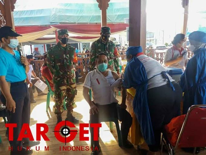 Wabup Safin Tinjau Vaksinasi di PT Samaco Karkasindo