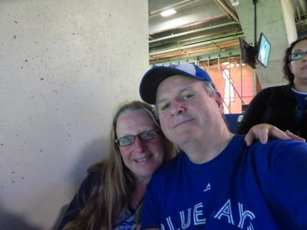 Teena in Toronto: Toronto Blue Jays 3, Milwaukee Brewers 4, Rogers