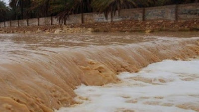 مصائب قوم عند قوم فوائد…السيول وفرت 25 مليون متر مياه