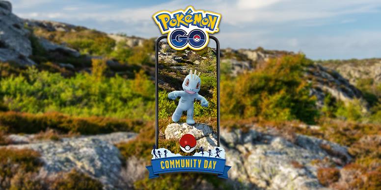 Machop Dia Comunitário Pokémon GO