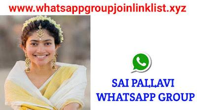 Sai Pallavi Whatsapp Group Join Link List, Sai Pallavi whatsapp group, Sai Pallavi whatsapp group link, Sai Pallavi whatsapp group join link, Sai Pallavi fans whatsapp group link, Sai Pallavi whatsapp group number, Actress Sai Pallavi whatsapp group join link