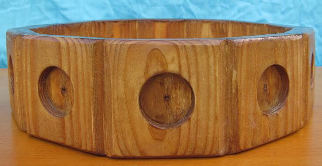 деревянный поднос под фрукты