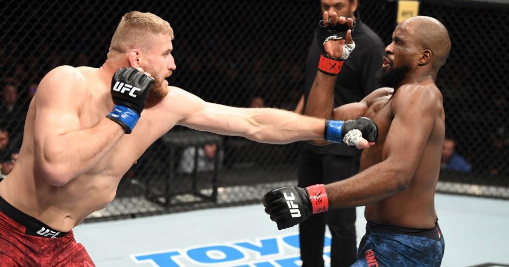 UFC Rio Rancho Video Highlights : Jan Błachowicz Stops Corey Anderson