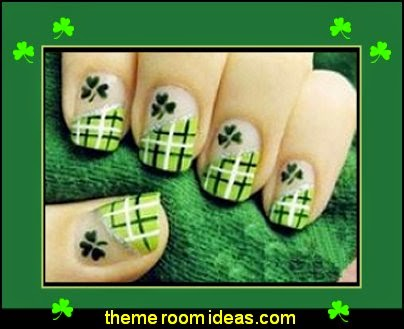 fun nail design ideas-decorating nails-nail decals