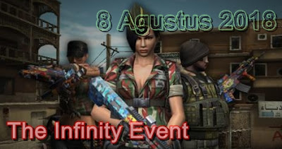 "Event PB Terbaru 2018 ""The Infinity Event"""
