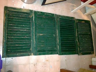 cut shutters in half