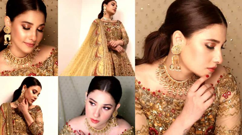 Hina Altaf Looks Mesmerizing in Bridal Photoshoot